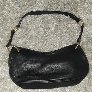 Juicy Couture Bags - Juicy Couture Black Leather Handbag